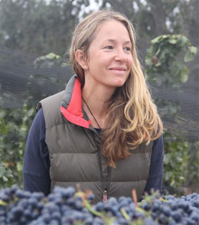 Treading Grapes With Angela Osborne in California