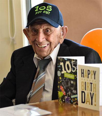 Keith Dawson of Port Macquarie Turns 105