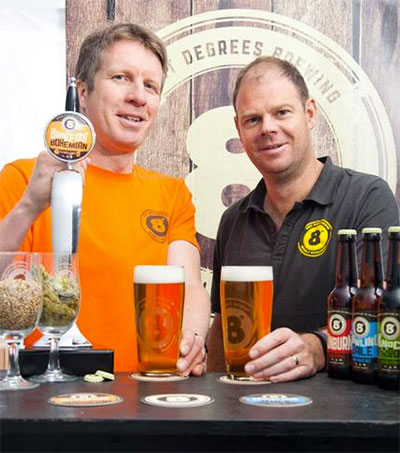 Irish Distillers Acquires Eight Degrees Brewing