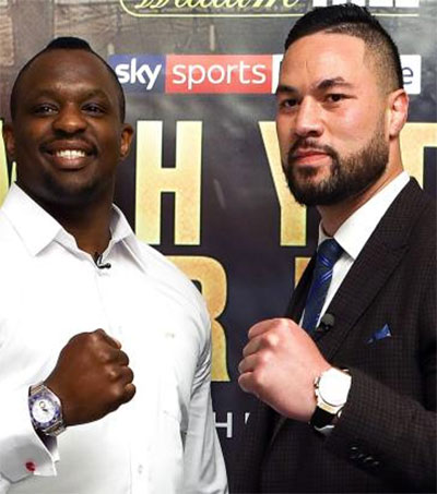 Joseph Parker to Box Dillian Whyte in London