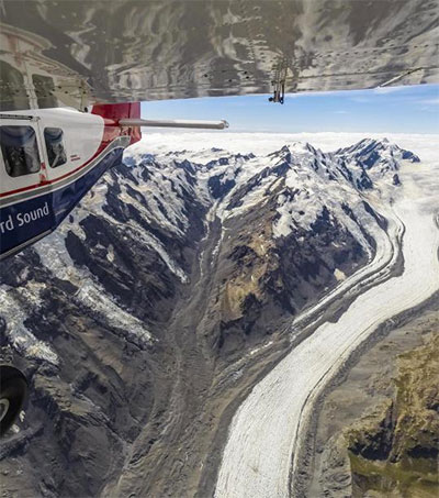 Bird's Eye View of New Zealand's Changing Glaciers