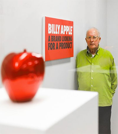 Billy Apple in Hong Kong and in Focus