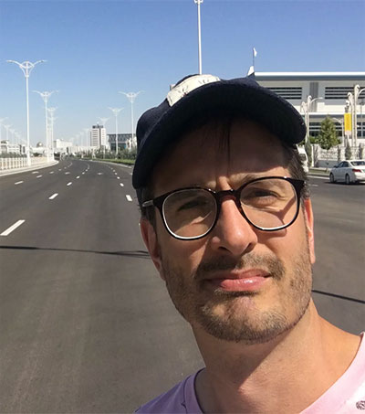 David Farrier Flies into the City of the Dead