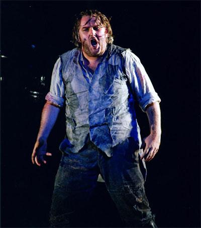 Wagnerian Superstar Simon O'Neill in Edinburgh