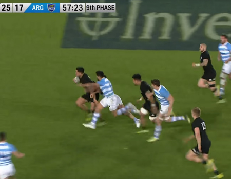 All Blacks vs. Pumas Highlights