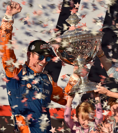 Scott Dixon Wins 5th IndyCar Championship