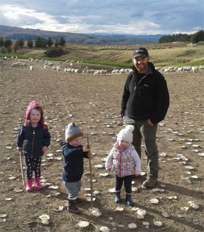 Oamaru Farmer Grant McNaughton an Award Nominee
