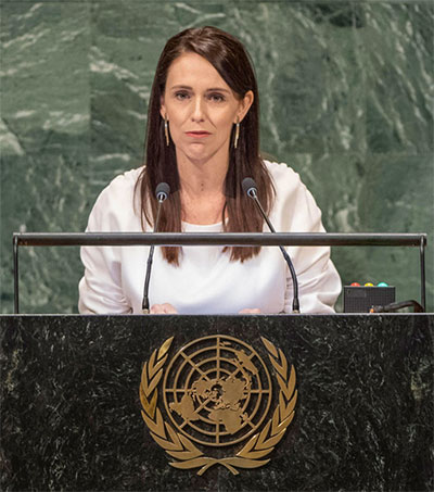 Jacinda Ardern Gives Maiden Speech at the UN