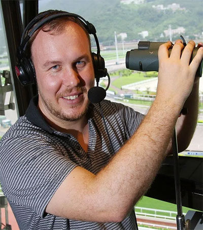 Hong Kong's Newest Racecaller is Tom Wood
