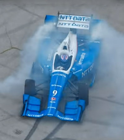 Scott Dixon Dazzles in 'Born Racer'
