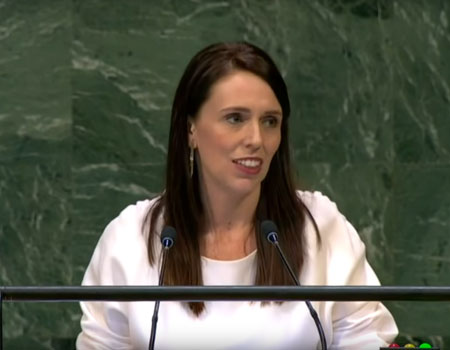 Jacinda Ardern Speech UN