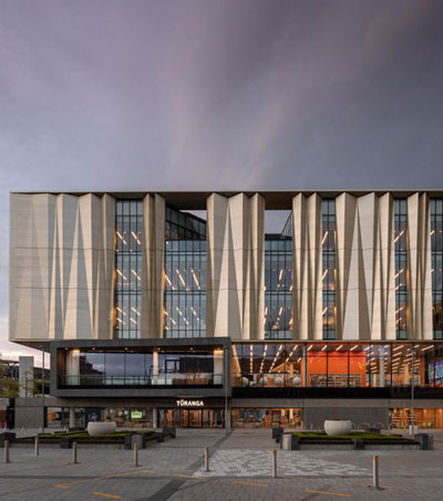 New Christchurch Library Featured in Designboom