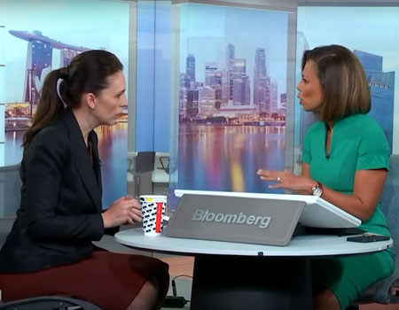 Jacinda Ardern Bloomberg Interview