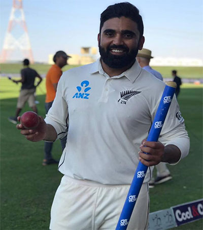 Bowling Sensation Ajaz Patel Ready for India
