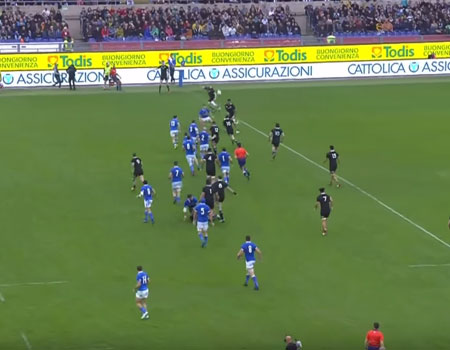 All Blacks vs Italy – 2018
