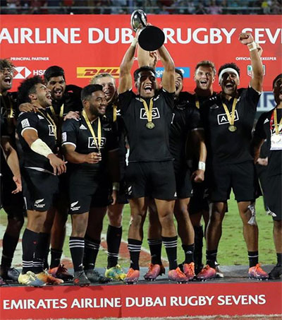 All Blacks Sevens Clinch Emirates Trophy
