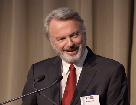 Sir Edmund Hillary Centenary Celebration: New Zealand actor Sam Neill speaks on bad haircuts